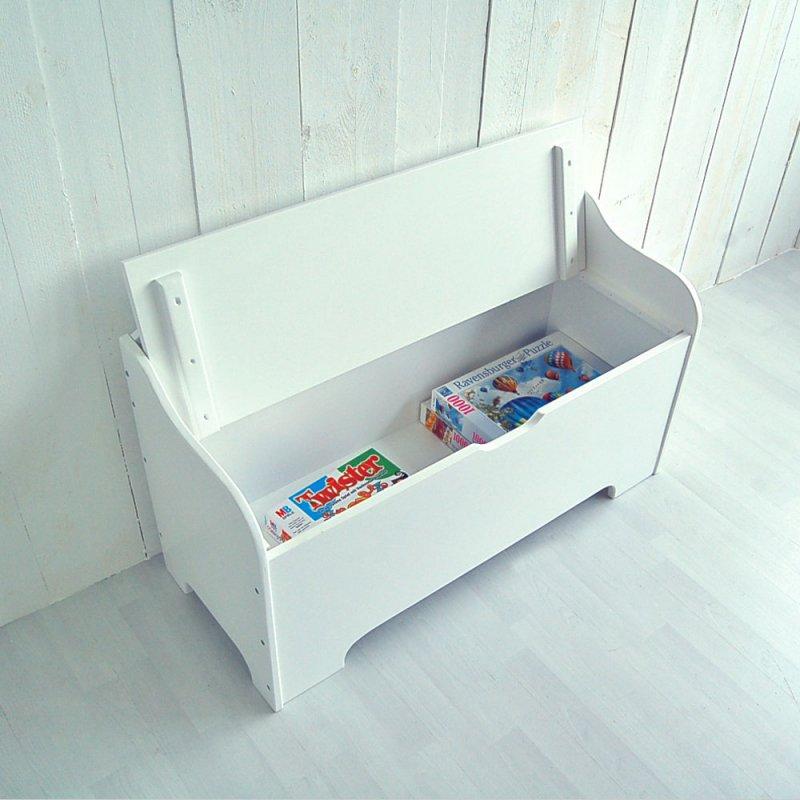 kinderbank roomstar mit stauraum und stern weiss 100cm dannenfel 169 00. Black Bedroom Furniture Sets. Home Design Ideas
