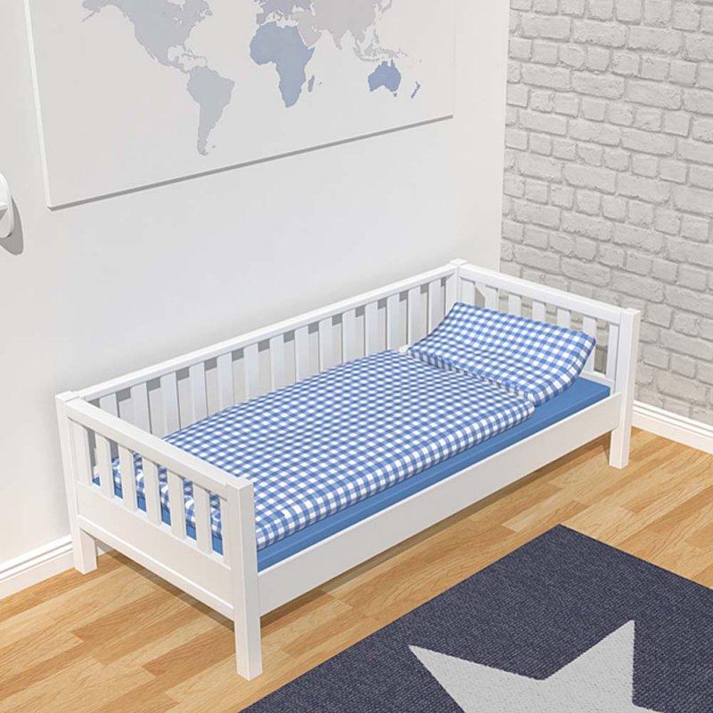 hochbett roomstar 160cm weiss umbaubar zum basisbett tagesbett d 899 00. Black Bedroom Furniture Sets. Home Design Ideas