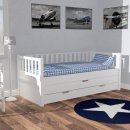 ROOMSTAR Daybed II, white, with guest bed and add. drawer...