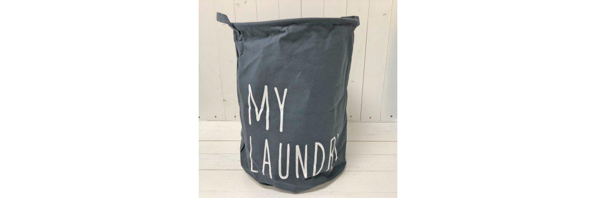 Wäschesack MY LAUNDRY, sofort liefebar - Wäschesack MY LAUNDRY, sofort liefebar