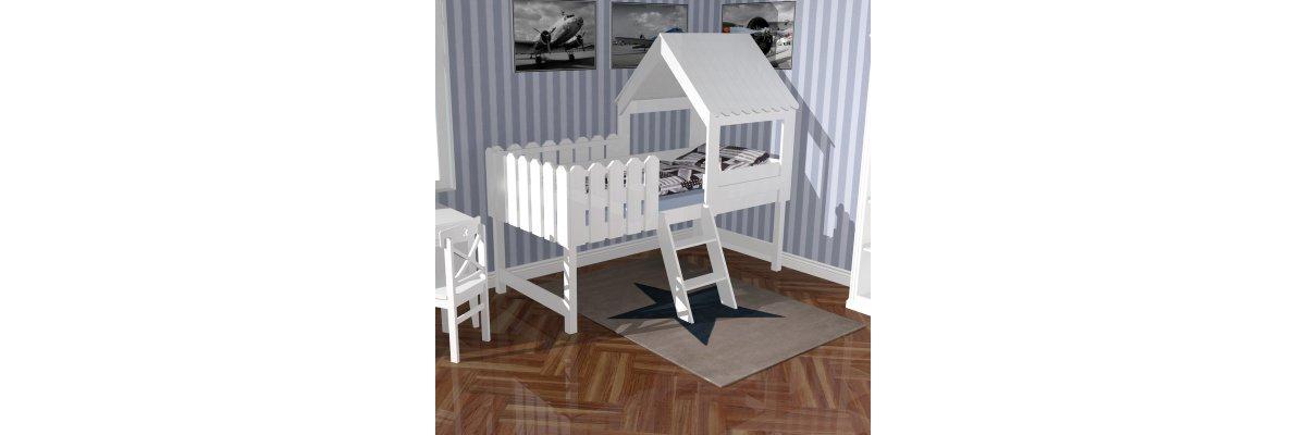 Sofort lieferbar: Spielbett BAUMHAUS 90x200cm -