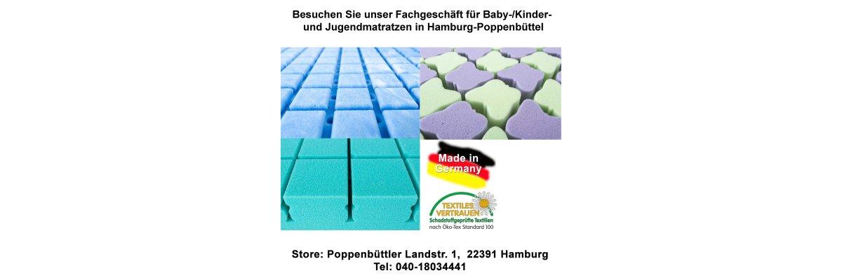 Fachgeschäft für Kindermatratzen in Hamburg-Poppenbüttel - Fachgeschäft für Kindermatratzen in Hamburg-Poppenbüttel