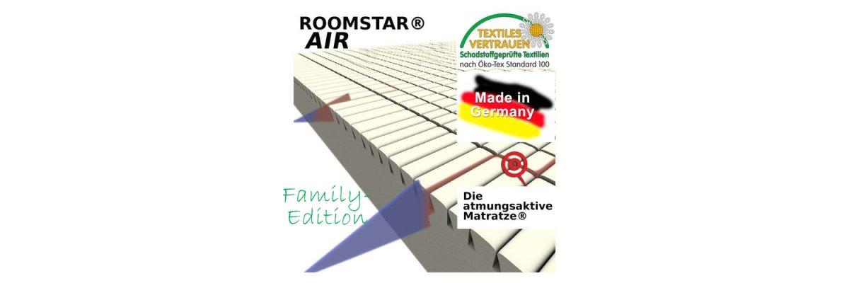 NEU: ROOMSTAR AIR Matratze FAMILY-EDITION - NEU: ROOMSTAR AIR Matratze FAMILY-EDITION