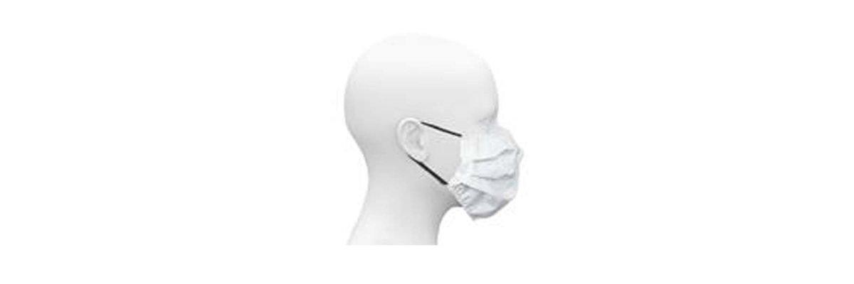 Wiederverwendbarer Mundschutz/Nasenschutz/Atemschutz aus EVOLON®., 95 Grad waschbar - Wiederverwendbarer Mundschutz/Nasenschutz/Atemschutz aus EVOLON®., 95 Grad waschbar
