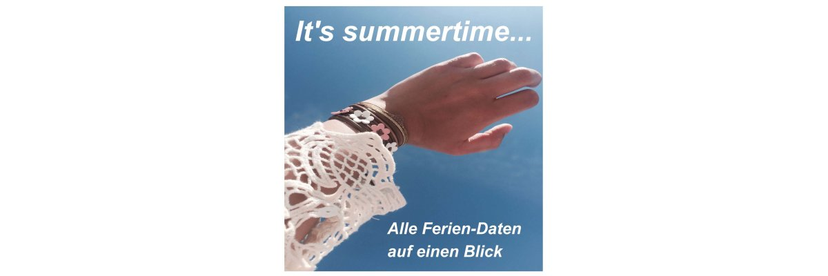 It\'s summertime.... -