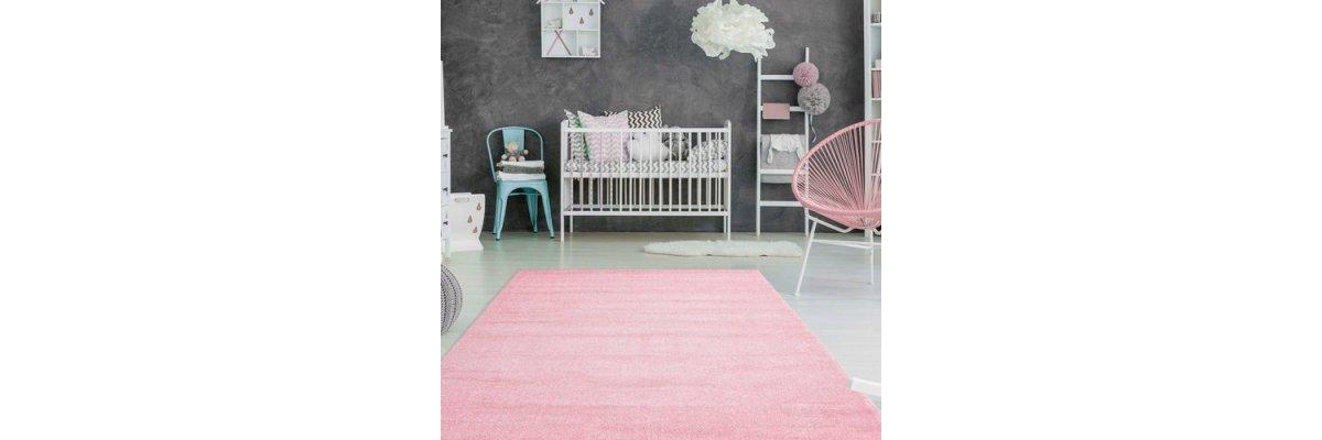 Mädchenzimmer-Teppich in POWDER PINK - ab nur 69,00€ - Mädchenzimmer-Teppich in POWDER PINK