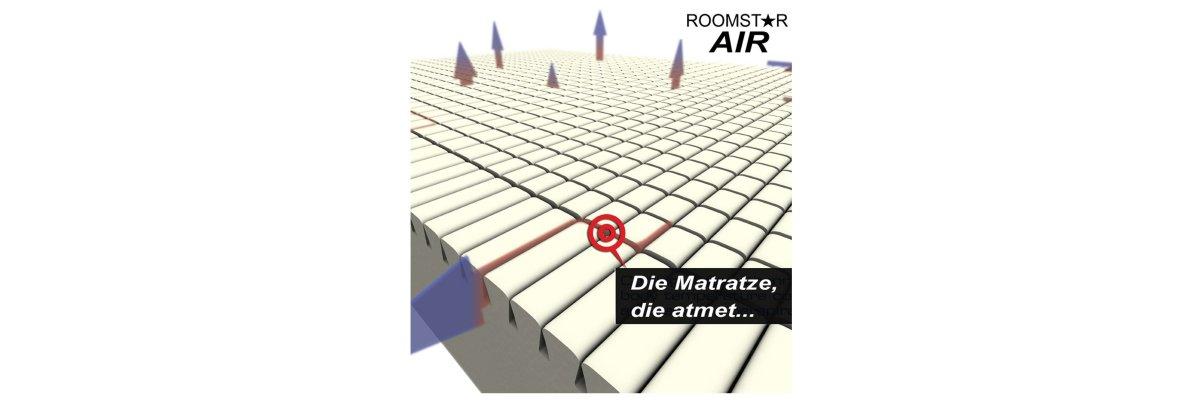 Jugendbett-Marken-Matratze ROOMSTAR sofort lieferbar -