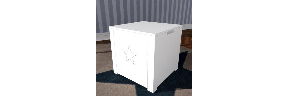 Sonderangebot: Hocker ROOMSTAR mit Stauraum nur 69,00€ - Hocker ROOMSTAR mit Toybox-Stauraum