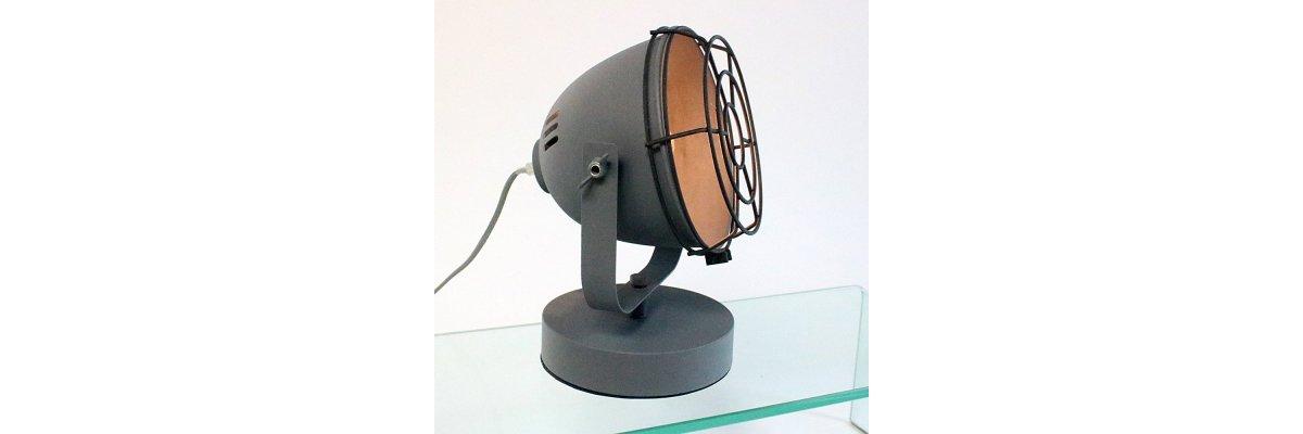 Tischlampe SPOTLIGHT-Scheinwerfer nur 39,00€ - Tischlampe SPOTLIGHT-Scheinwerfer im Angebot