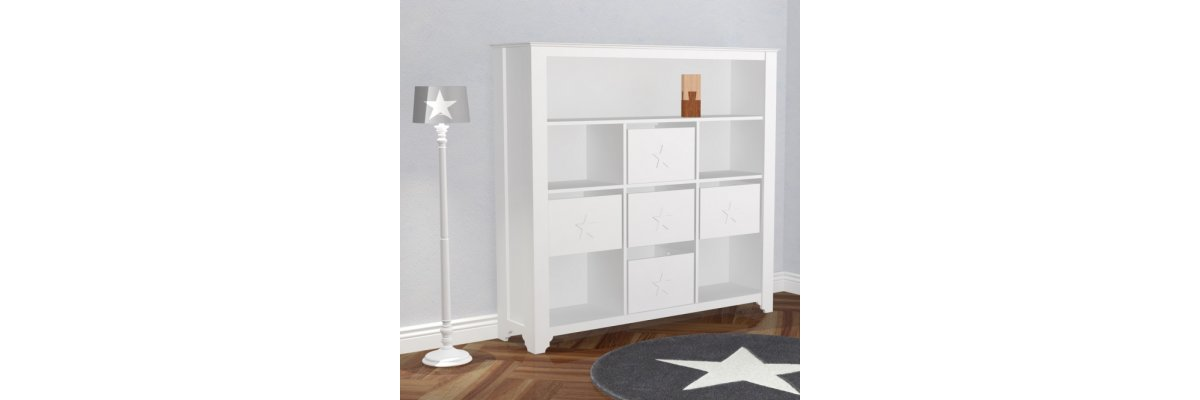 XL Kinderregal Bücherregal PRETTY im Angebot - XL Kinderregal Bücherregal PRETTY im Angebot