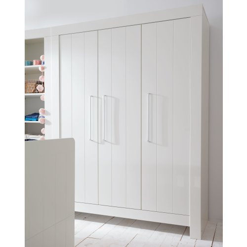 kleiderschrank carla 3 t rig grau oder weiss breite 156cm h he 879 00. Black Bedroom Furniture Sets. Home Design Ideas