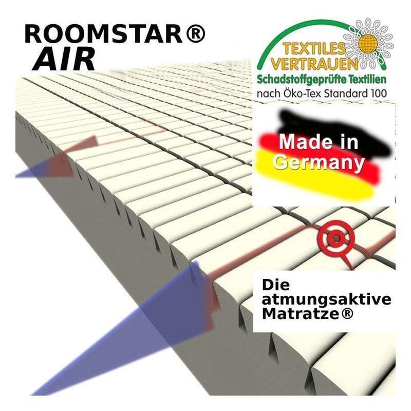 ROOMSTAR Youth Mattress AIR Cold Foam 90x200x16cm
