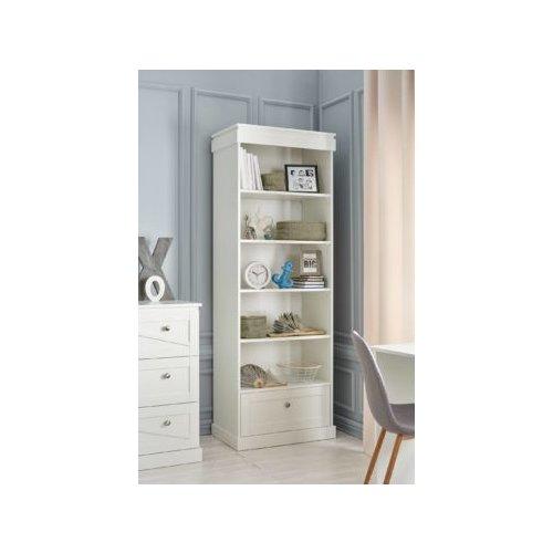 Bücherregal Standregal OPULENCE, weiß, Schublade, Höhe: 205cm