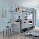 Mathy by Bols Etagenbett WAGON - individuell gestalten  - viele Farben