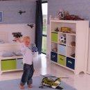 DANNENFELSER kids shelf PRETTY, white, 10 shelfs