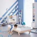 Lifetime Babybett Juniorbett 70 x 140 cm weiß/Birke natur, 7032