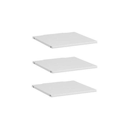 Lifetime 3 Böden für Schrankelement 50 cm weiß, 9531-10