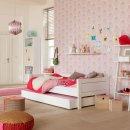 Lifetime Bettkasten Schublade für Basisbett groß, weiss, 7060-10