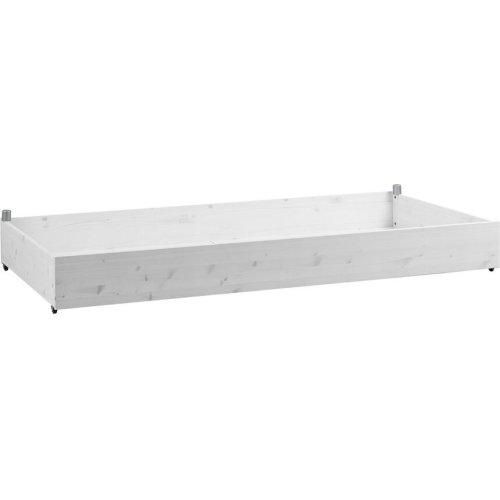 Lifetime Bettkasten Schublade für Basisbett groß, white wash, 7060-01W
