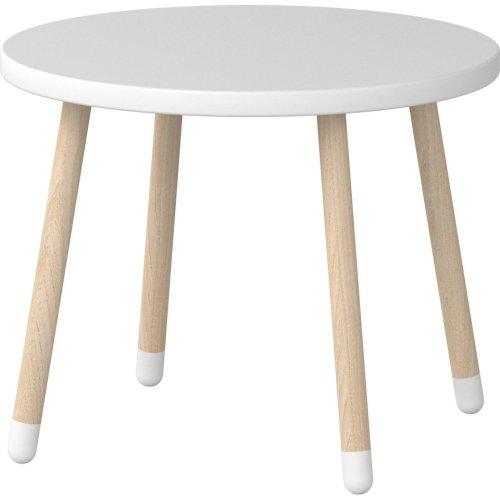 FLEXA Dots Kinder-Tisch weiß, Diameter 60cm