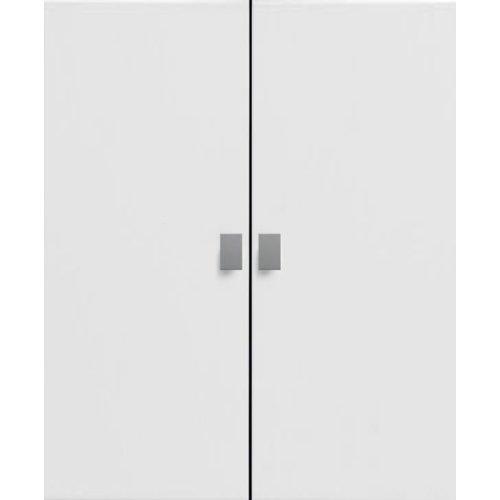 Lifetime Türenset groß für Regal weiß lackiert 8019-10